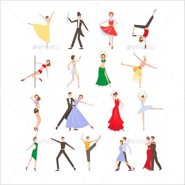 Dance Festival Icons