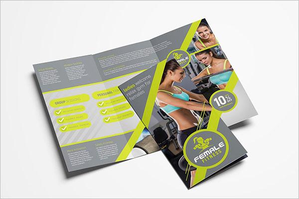 Dance School Brochure Template