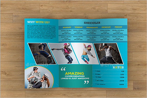 Dance Studio Brochure Bundle