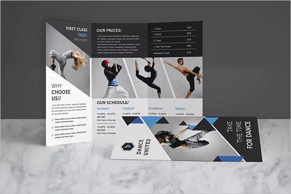 Dance Studio Brochure Pack
