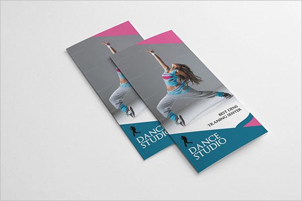 Dance Studio Brochure Template