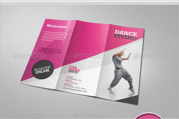 Dance Studio Brochure