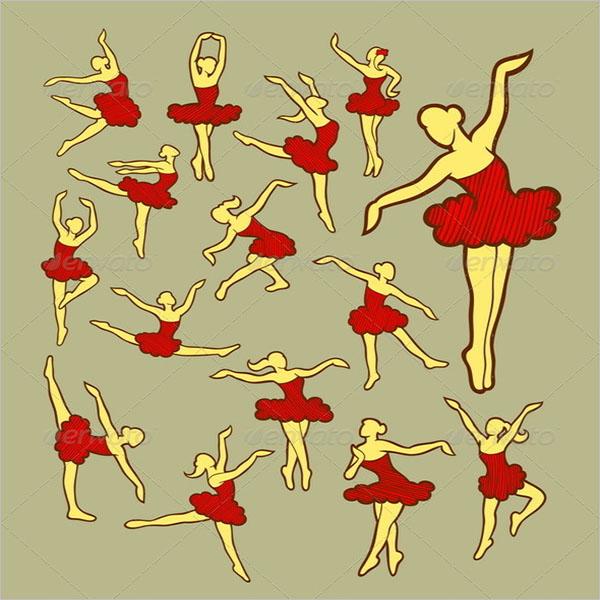 Dancer Icons Sketch