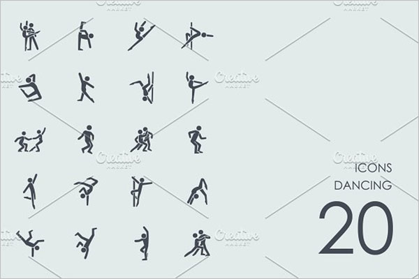 Dancing Icons Design