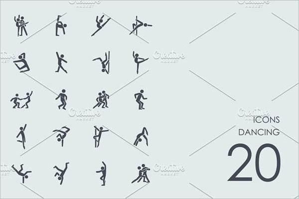 Dancing Icons Design