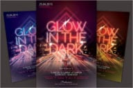 Dark Nightclub Flyer Template
