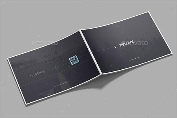 Deluxe A5 Landscape Brochure