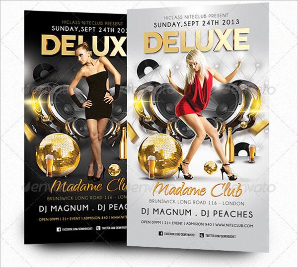 Deluxe Nightclub Flyer Template