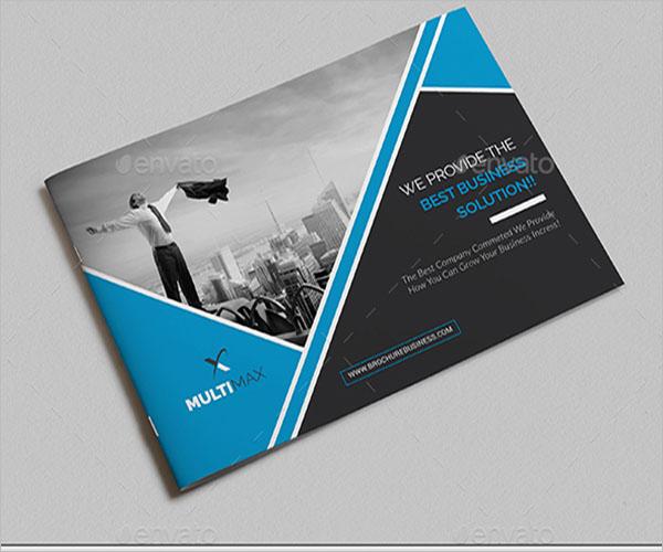 Digital Landscape Brochure Design