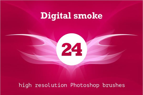 Digital Smoke Brush Pack