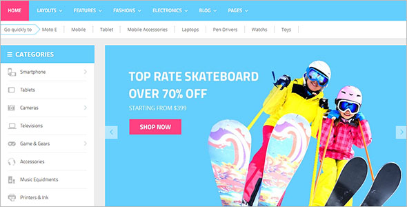 Digital eCommerce OpenCart Theme