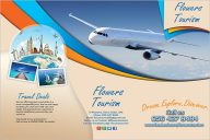 Discover Tourism Flyer Template