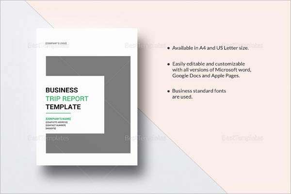 Download Business Project Report Template