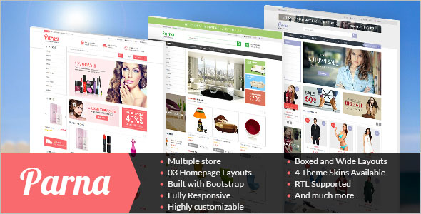 Download Latest Version Prestashop Template