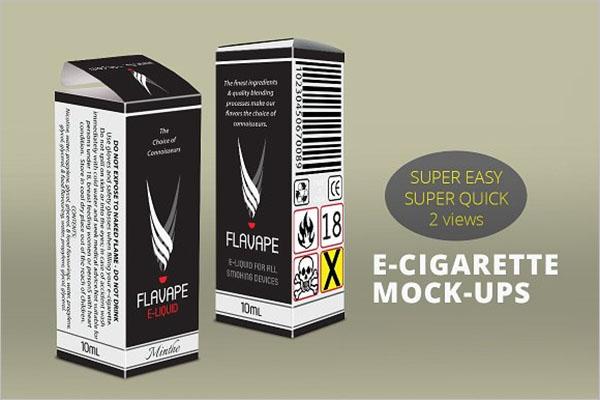 E-Cigarette Mockup