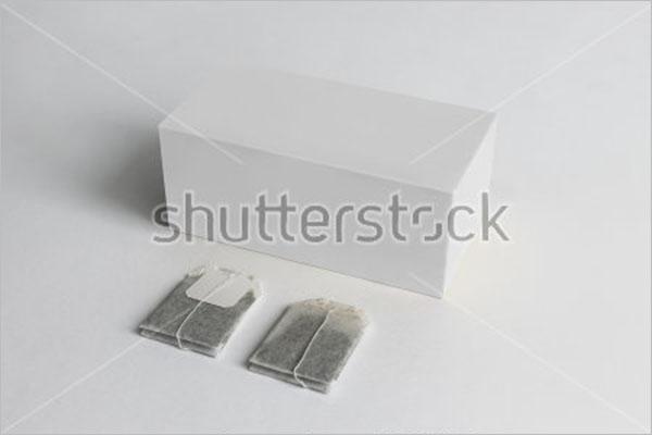 Editable Tea Box Mockup
