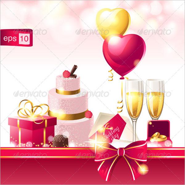 Editable Wedding Invitation Card Template