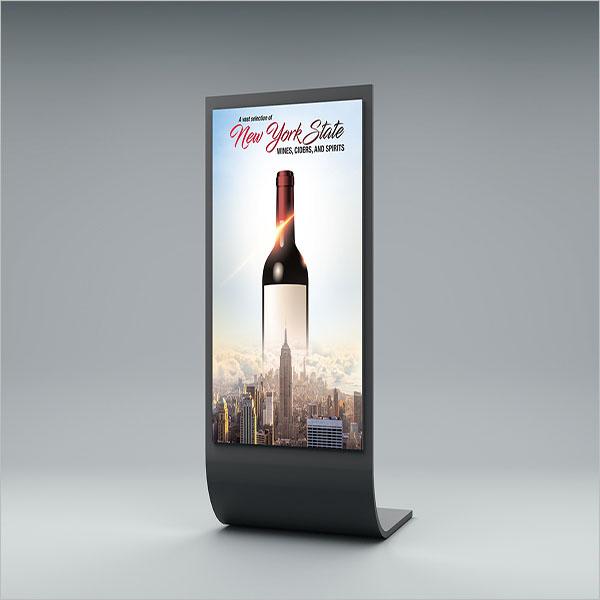 Editable Wine Flyer Design