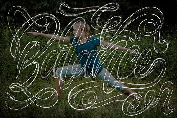 Editable Yoga Poster Design