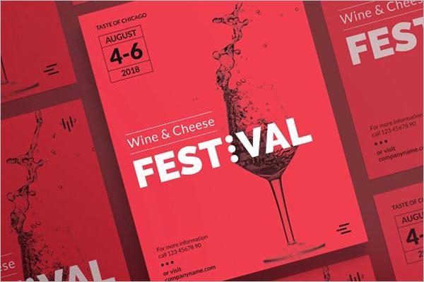 Educational Wine Poster Design