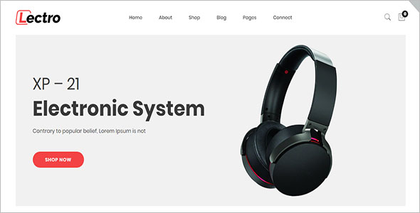Electronics WooCommerce Store Theme