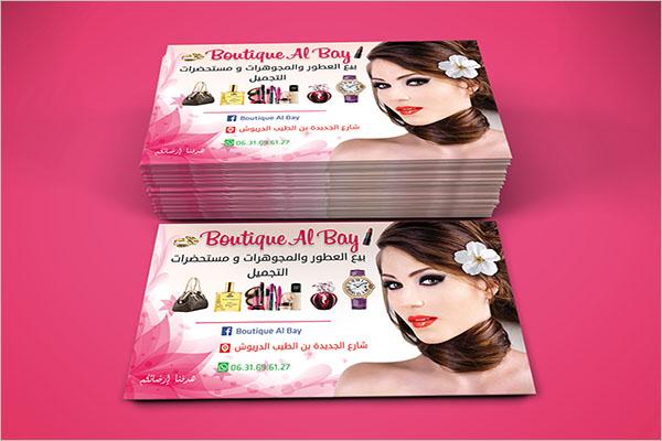 Elegant Boutique Business Card Design