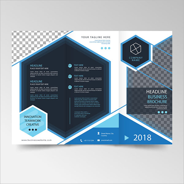 Elegant Brochure Template Design