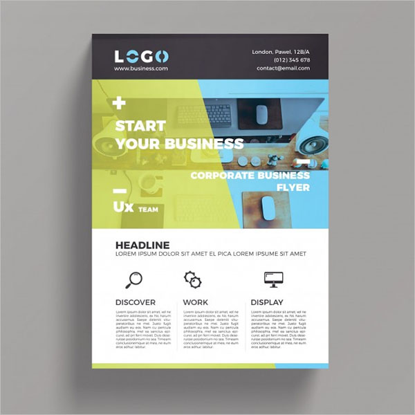 Elegant Business Flyer Theme