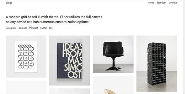 Elinor Tumblr Theme