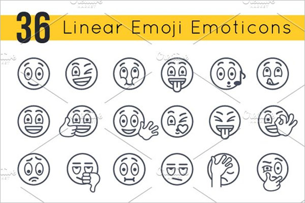 Emoji Emoticons Smiley Faces