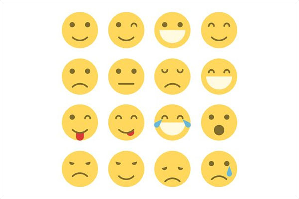 Emoji Faces Icons