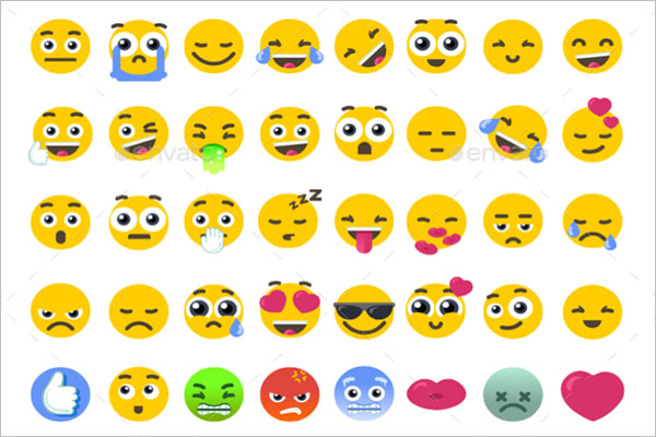 Emoji Icons Example