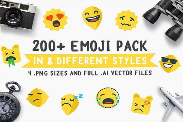 Emoji Travel Pack Icon