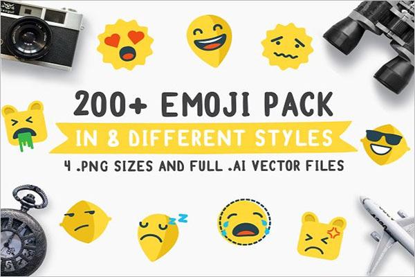 Emoji Travel Pack Icon
