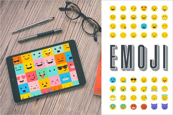 Emotional Emoji Of Icons