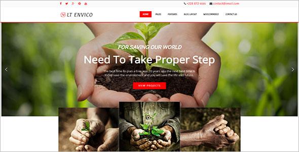 Environmental WordPress Theme Ideas