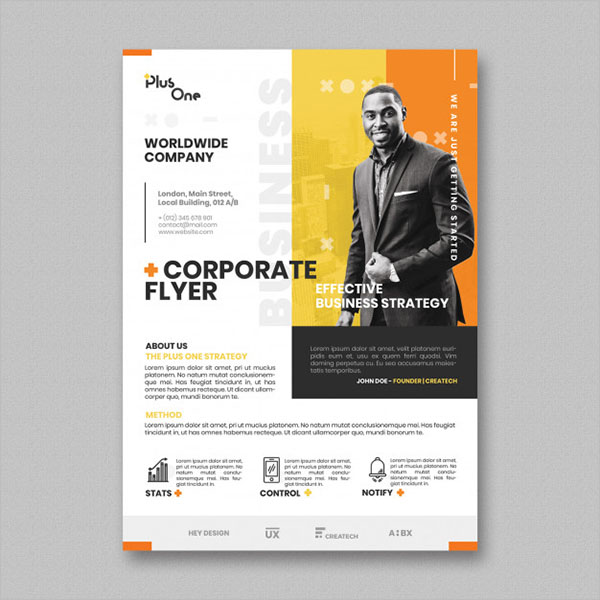 Example Flyer Template