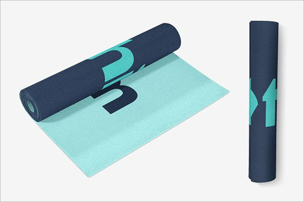Exercise Mat Mockup Set