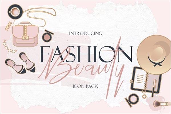 Fashion Beauty & Fashion Icon Design