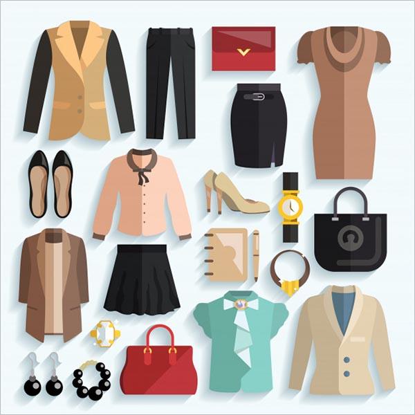 Fashion Color Icon Design