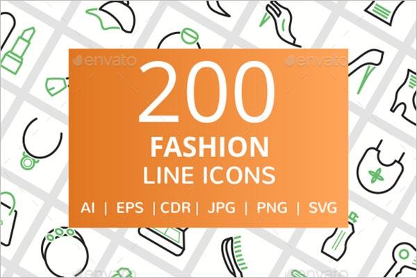 Fashion Design Style Icon