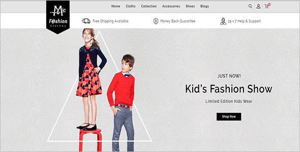 Fashion Ecommerce OpenCart Template