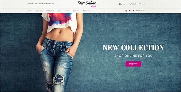 Fashion OpenCart eCommerce Theme