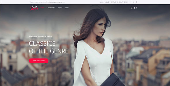 Fashion Shop WooCommerce Theme