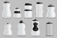 Fitness Bottle Realistic