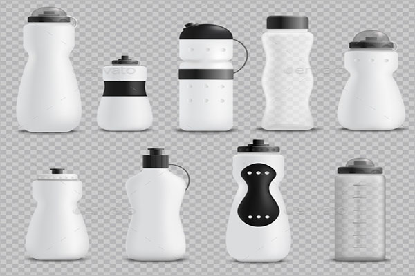 Fitness Bottle Realistic