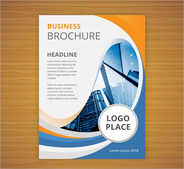 Flat Business Brochure Template