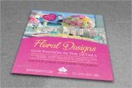 Floral Designs Flyer Template