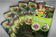 Flower Shop Business Flyer Template