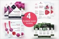 Flower Shop Flyer Bundle